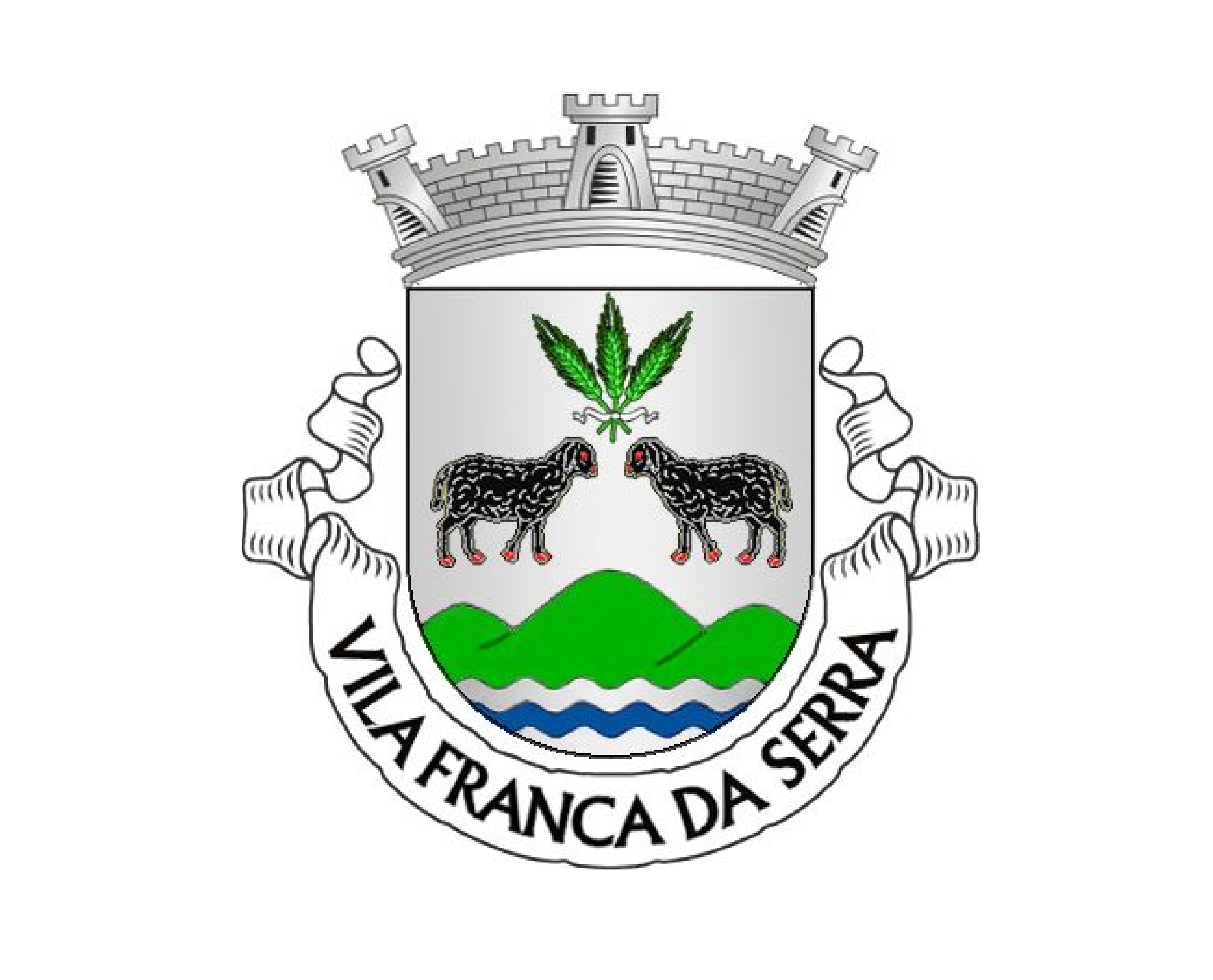 Brasão Vila Franca da Serra